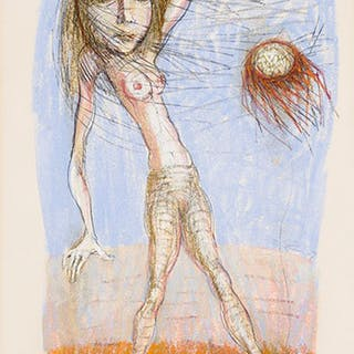 Nude in the Wind - Miller Gore Brittain