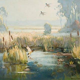 Morning Mist Near Madawaska - Frank Shirley Panabaker