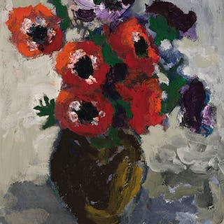 Anemones - Molly Joan Lamb Bobak