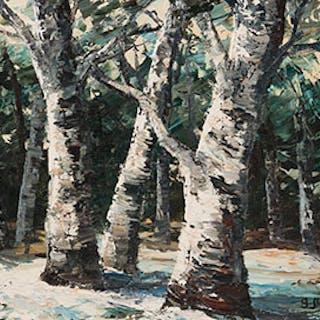 Grove of Trees - Georgia Jarvis