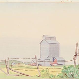Prairie Elevator - Walter Joseph (W.J.) Phillips