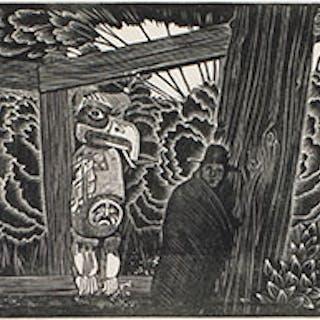 Ruin, Tsatsisnukomi - Walter Joseph (W.J.) Phillips