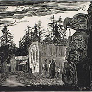Community Houses, Mamalilicoola - Walter Joseph (W.J.) Phillips