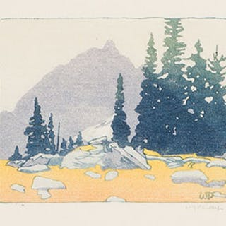 Alpine Meadow - Walter Joseph (W.J.) Phillips