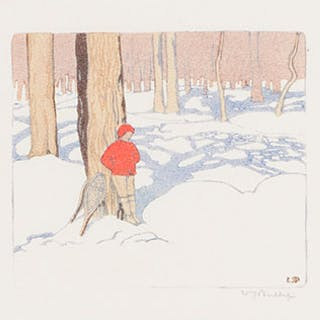 Winter Woods - Walter Joseph (W.J.) Phillips
