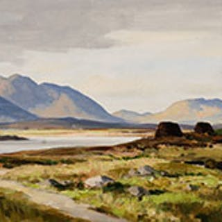 Galway Landscape - Maurice Canning Wilks