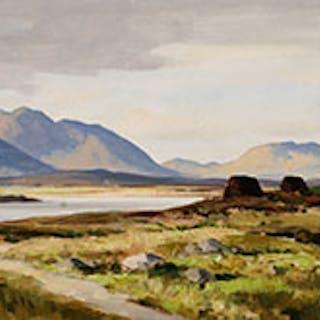 Galway Landscape - Maurice Canning Wilks