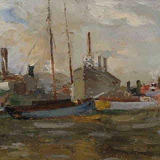 Port de Montreal - Paul Archibald Octave Caron
