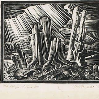 Old Stumps, Victoria, BC - Jack Leonard Shadbolt