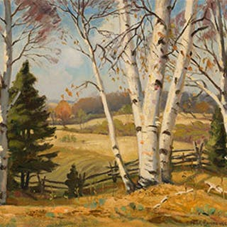 Autumn Landscape - Frank Shirley Panabaker