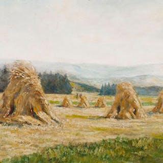Haystacks - George Agnew Reid