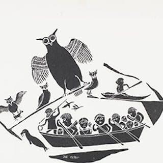 Hunting in a Canoe - Joe Talirunili