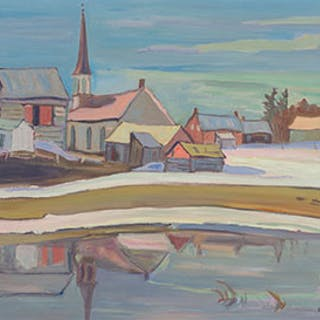 Village of Ashton, Near Carleton Place, Ontario - Ralph Wallace Burton