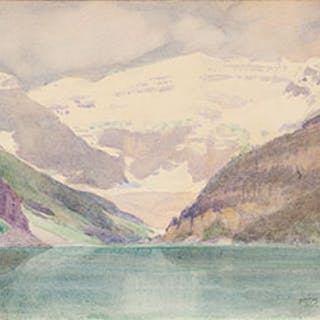 Lake Louise - Frederic Marlett Bell-Smith