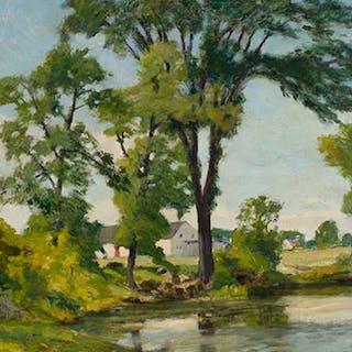 The Elms, Saint Eustache - William Brymner