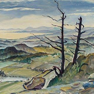 November Mists - William Percival (W.P.) Weston