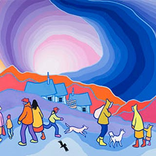 It's Getting Colder - Ted Harrison
