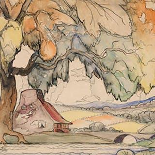 Paysage à Sainte-Rose - Marc-Aurèle Fortin