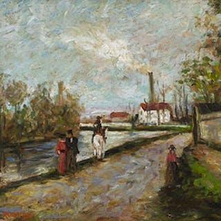 La Promenade - Arthur Dominique Rozaire