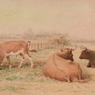 Pastoral Scene - Frederick Arthur Verner