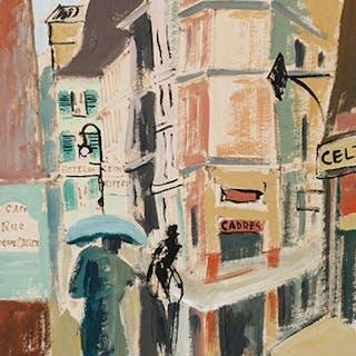 Scène de rue - Henri Leopold Masson