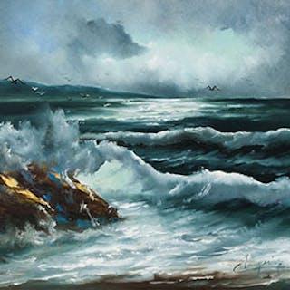 Seascape - Claude Langevin