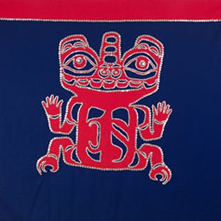 Haida Button Blanket - Florence Edenshaw Davidson