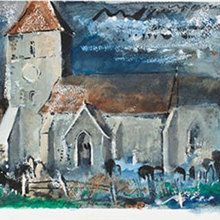 St. Mary Marsh, Romney - John Piper