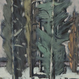 Landscape of Trees - Stanley Morel Cosgrove
