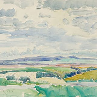 The Moose Jaw River Valley - Dorothy Knowles