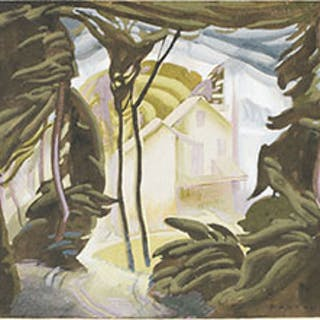 House Beyond the Woods - Lawrence Arthur Colley Panton