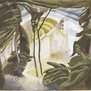 House Beyond the Woods - Lawrence Arthur Colley Panton