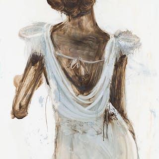 Cool Grey Dress - Angela Grossmann