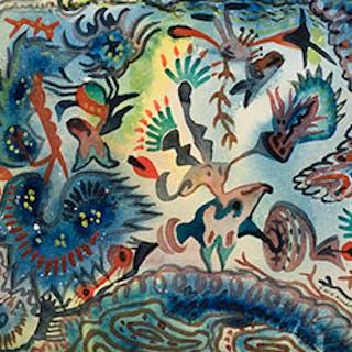 In a Persian Garden - James Williamson Galloway (Jock) Macdonald