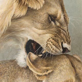 The Mating Game - Robert Bateman