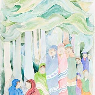 Singing to the Elders - Daphne Odjig