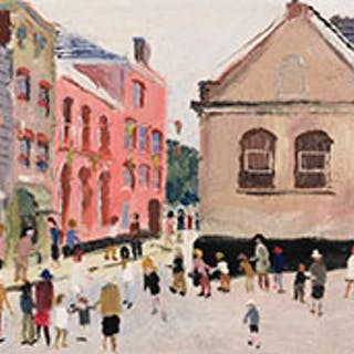 Lot # 431 19th & 20th Century Art Online auction Fred...