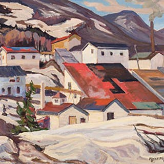 Lot # 514 Fine Canadian Art Online auction Dr
