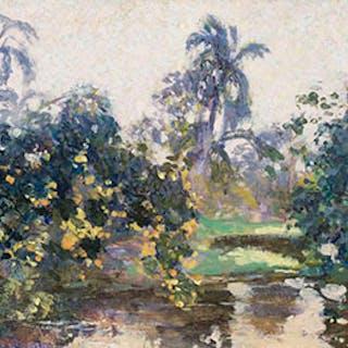 A River Through the Jungle, Cuba - William Henry Clapp