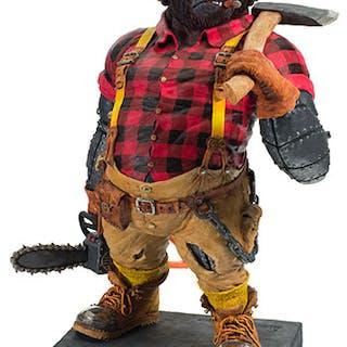 The Lumberjack - Alan Waring