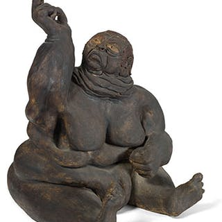 Sitting Buddha - Unknown Artist