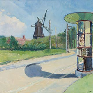 Windmill - Unknown European Artist