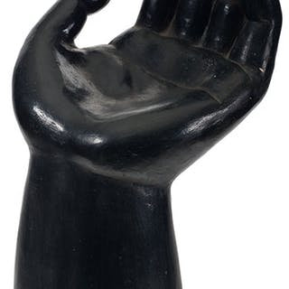 Escultura Manto (Hand Sculpture) - Black - Firsto
