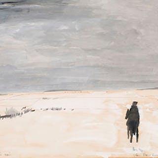 Le cavalier noir - Jean Paul Lemieux