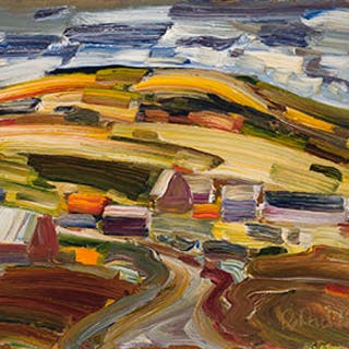 Autumn Landscape - René Jean Richard