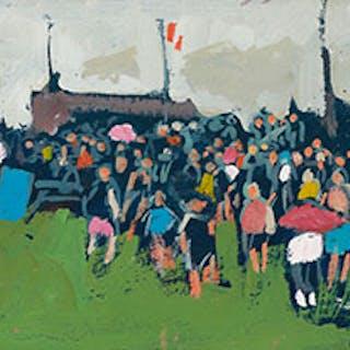 Crowd - Molly Joan Lamb Bobak