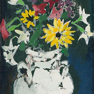 Jug of Flowers - Molly Joan Lamb Bobak