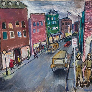 Main Street, Nanaimo - Molly Joan Lamb Bobak