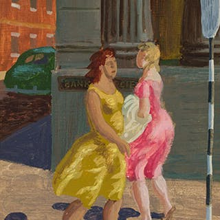 Women Walking - Phillip Henry Howard Surrey