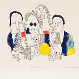 Three Musicians - Eric Metcalfe